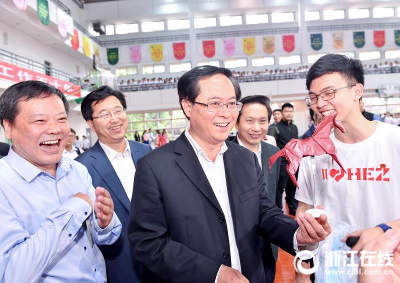 车俊:凝聚青春力量共筑中国梦