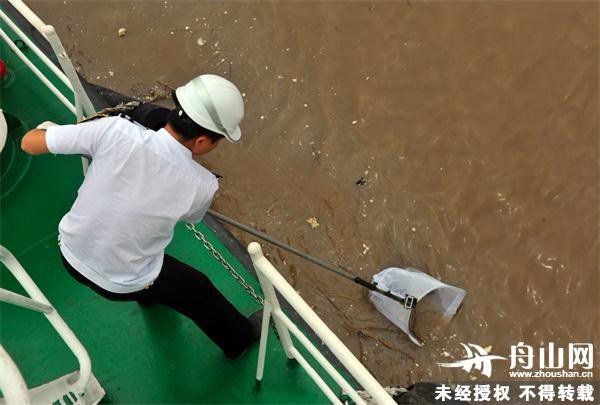 """""""世界环境日"""" 高科技仪器助力海上环保检查"""