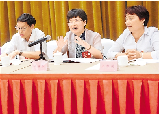 省党代会代表热议努力建设平安浙江